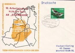 DDR 1973 TEEM- Verbindungen Durch Die DDR ZUG 5509 - Trains
