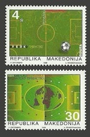 MACEDONIA YUGOSLAVIA 1998 SPORT FOOTBALL WORLD CUP FRANCE SET MNH - Macedonia