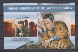 E92. Guinee - MNH - 2013 - Sport - Chess - Garry Kasparov - Bl - Non Classés