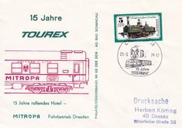DDR 1978 15 Jahre Tourex 29-03-1978 - Trains