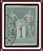 Colonies Générales - N° 24 (YT) N° 24 (AM) Type I Oblitéré De Cochinchine. - Sage