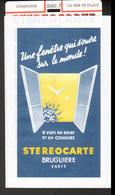 Stereocarte Bruguiere, 2060.7, Chamonix, La Mer De Glace - Visionneuses Stéréoscopiques