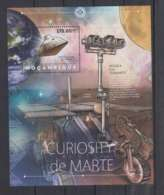 H92. Mozambique - MNH - 2012 - Space- Spaceships - Curiosity - Bl - Space