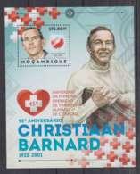H92. Mozambique - MNH - 2012 - Famous People - Chritiaan Barnard - Bl - Altri