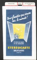 Stereocarte Bruguiere, 2060.2, Chamonix, Les Environs (1) (aval) - Stereoscopi