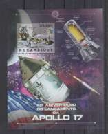 H92. Mozambique - MNH - 2012 - Space - Spaceships - Apollo 17 - Bl - Space