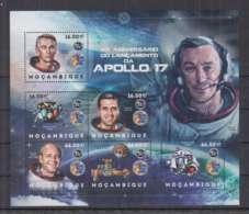 H92. Mozambique - MNH - 2012 - Space - Spaceships - Apollo 17 - Space
