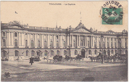 31 - TOULOUSE - Le Capitole - 1913 / Calèches, Chevaux - Toulouse