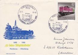 DDR 1980 90 Jahre Müglitztalbahn 30-11-1980 - Trains