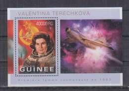 K92. Guinee - MNH - 2013 - Space - Spaceships - Valentina Terechkova - Bl - Space