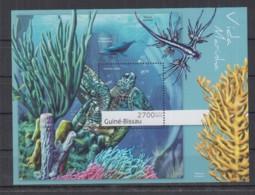 M92. Guine-Bissau - MNH - 2012 - Fauna - Animals - Marine Life - Fishes - Bl - Briefmarken
