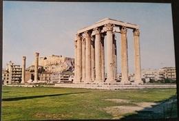 Ak Griechenland - Athen - Tempel Des Olympischen Zeus - Grèce