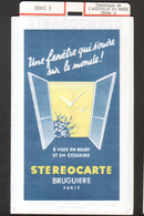 Stereocarte Bruguiere, 2062.3, Telepherique De L'Aiguille Du Midi (série 1) - Visionneuses Stéréoscopiques