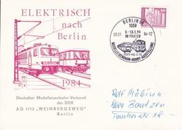 DDR 1984 Elektrisch Nach Berlin 06-01-1984 - Trains