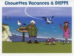 Dessin - Dieppe - Sterin - Chouettes Vacances A Dieppe  - Petit Prix - Autres Collections