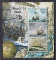 R92. Guine-Bissau MNH - 2011 - Transport - Ships - Sailing Ships - Ohne Zuordnung