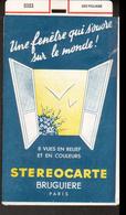Stereocarte Bruguiere, 2321, Eze Village - Visionneuses Stéréoscopiques