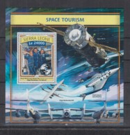 T92. Sierra Leone MNH - 2016 - Space - Space Tourism - Bl - Space