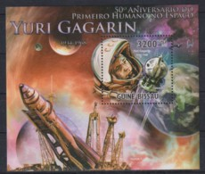Y92. Guinea-Bissau - MNH - 2011 - Space - Bl. - Space