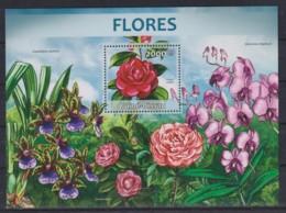 Z92. Guinea-Bissau - MNH - 2013 - Nature - Plants - Flowers - Bl. - Stamps