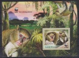 Z92. Guinea-Bissau - MNH - 2013 - Nature - Animals - WWF - Bl. - Stamps