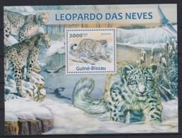 Z92. Guinea-Bissau - MNH - 2013 - Nature - Animals - Leopards - Bl. - Stamps