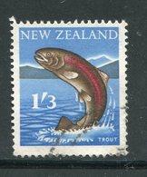 NOUVELLE-ZELANDE- Y&T N°393- Oblitéré (poisson) - Fishes