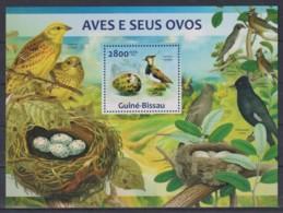 Z92. Guinea-Bissau - MNH - 2013 - Nature - Animals - Birds - Bl. - Stamps