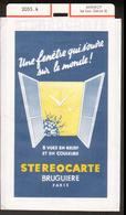 Stereocarte Bruguiere, 2055.4, Annecy, Le Lac (série 2) - Visionneuses Stéréoscopiques
