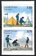 Groënland 2007 N° 461/462 Adhésifs Neufs Europa Scouts - Groenland
