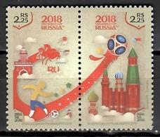 Brazil 2018 Brasil / FIFA World Football Cup Russia MNH Campeonato Mundial Fútbol Rusia / Cu10917  C5 - Copa Mundial