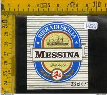 Etichetta Birra Messina Sicilia - Birra