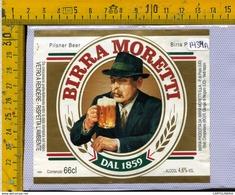 Etichetta Birra Moretti - Birra