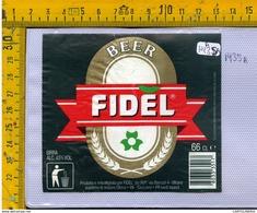 Etichetta Birra Fidel - Birra