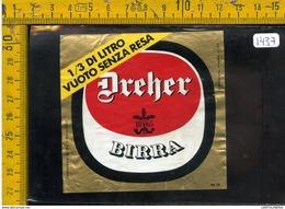 Etichetta Birra Dreher - Birra