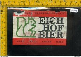 Etichetta Birra Eichhof - Birra