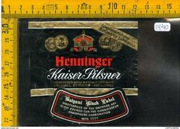 Etichetta Birra Henninger - Birra