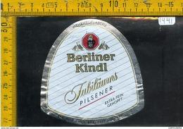 Etichetta Birra Berliner Kindl - Birra