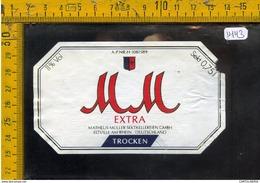 Etichetta Birra Trocken Extra - Birra