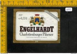 Etichetta Birra Engelhardt - Birra