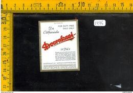 Etichetta Birra Doornkaat - Birra