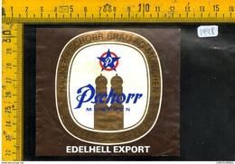 Etichetta Birra Pschorr - Birra