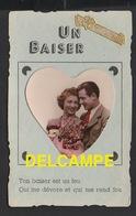 DF / COUPLES / UN BAISER / TON BAISER EST UN FEU QUI ME DÉVORE ET ME REND FOU - Couples