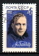 URSS. N°2605 Oblitéré De 1962. Gaïdar. - Writers