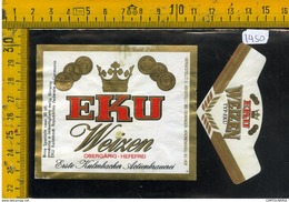 Etichetta Birra Eku Weizen - Birra