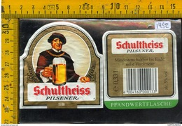 Etichetta Birra Schultheiss - Birra