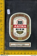Etichetta Birra  Astra Bavaria - Birra