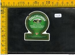 Etichetta Birra Ballygowan - Birra