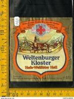 Etichetta Birra Weltenburger Kloster - Birra