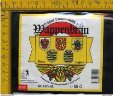 Etichetta Birra Wappenbrau - Birra